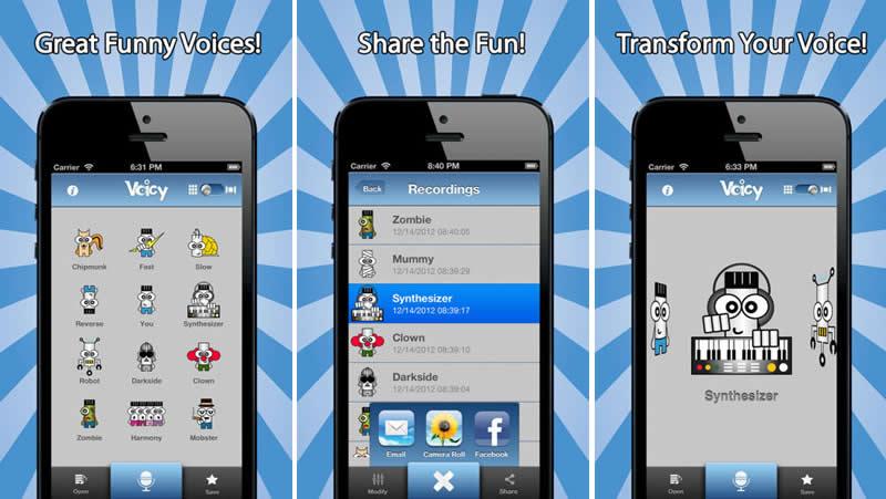 Apps para cambiar la voz en iPhone por voces divertidas - cambiar-la-voz-iphone-gratis
