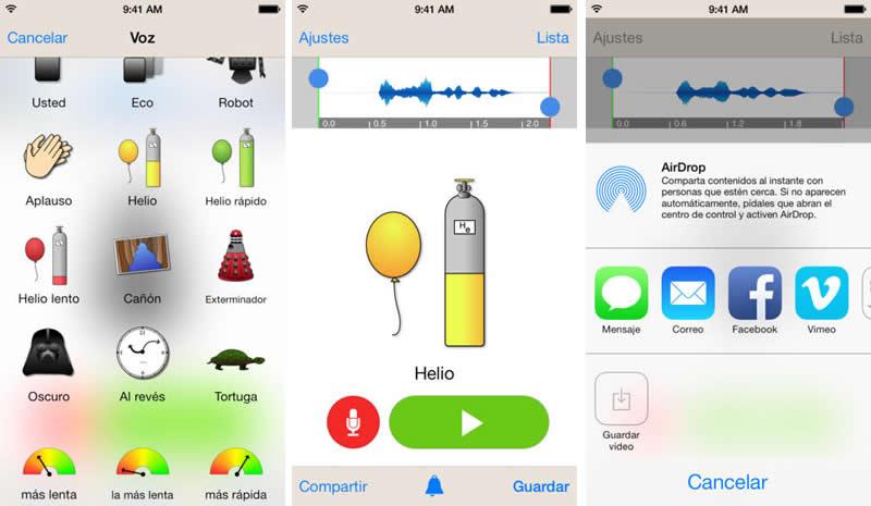 Apps para cambiar la voz en iPhone por voces divertidas - cambiar-voz-iphone