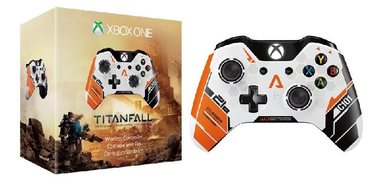 Lanzan control inalámbrico edición especial de Titanfall para Xbox One - cl