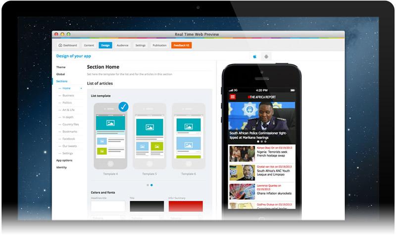 Crear apps android y iphone r pido sin saber programar con - App para disenar ...