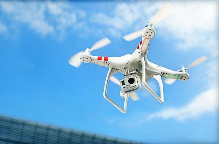 Los 5 mejores drones que puedes comprar ahora mismo - dji-phantom-drone