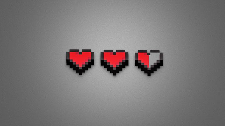 Fondos de pantalla Gamers para descargar gratis - fondos-de-pantalla-gamer-8-bit-heart