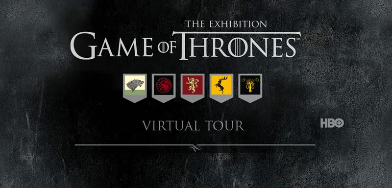 game of thrones tour virtual Exhibición de Game of Thrones llega a México en Febrero