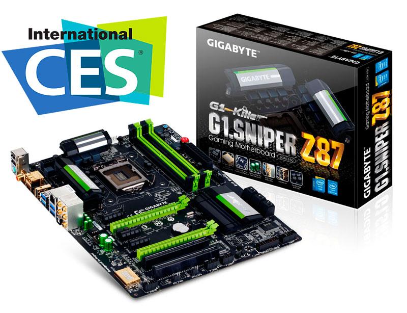 GIGABYTE presenta nueva gama de motherboards y su primera Steam Machine en el CES 2014 - gigabyte-ces-2014