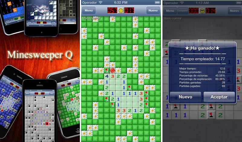 Descarga Buscaminas, el clásico juego para Android y iPhone gratis - juegos-iphone-buscaminas