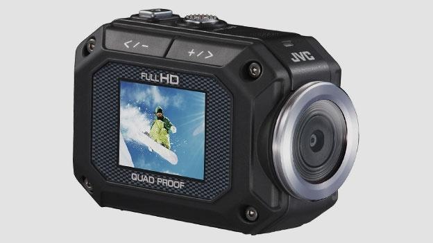 Cinco videocámaras de acción alternativas a GoPro - jvc-action-camera