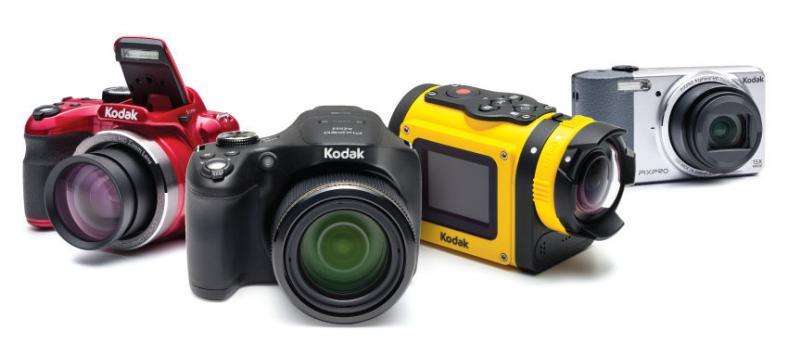 Nuevos modelos de Kodak Pixpro son presentados incluyendo lentes para Smartphones - kodak-pixpro