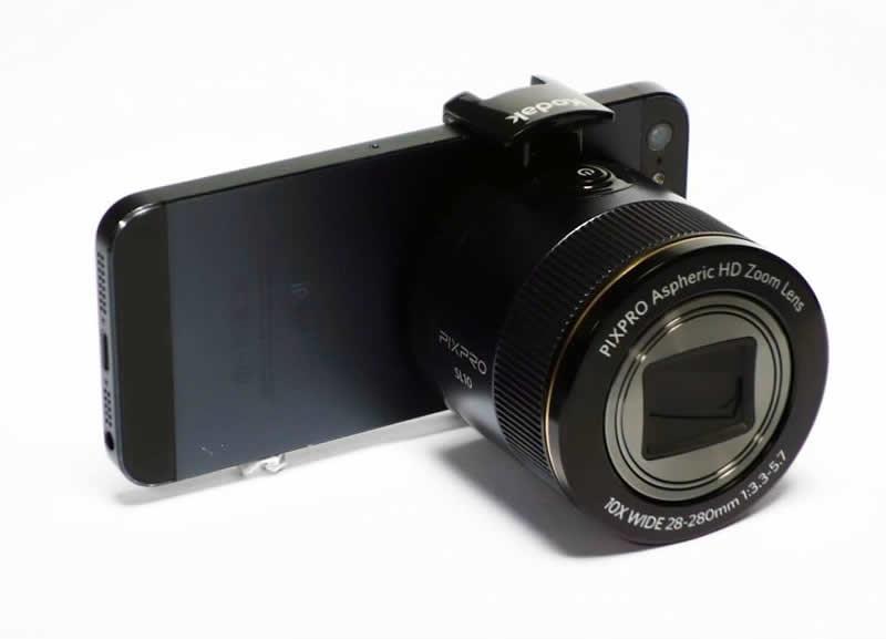 Nuevos modelos de Kodak Pixpro son presentados incluyendo lentes para Smartphones - kodak-smart-lens