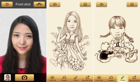 MomentCam, convierte tus fotos en caricaturas con esta app gratis para iOS y Android