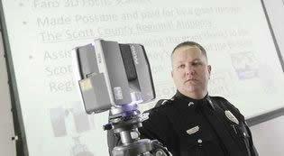 Policía en Estados Unidos archiva escenas del crimen en 3D - policia-escaner-3d