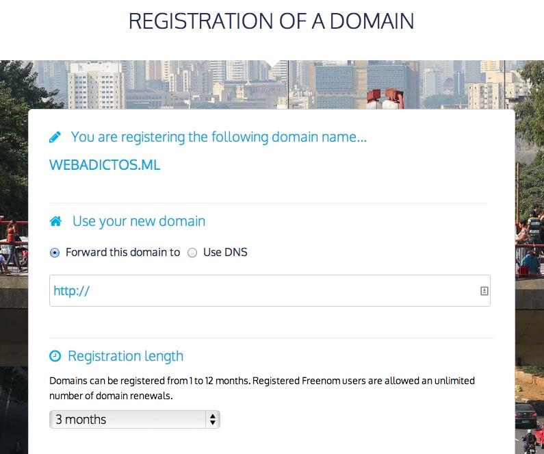 Dominios gratis en Freenom - registro-dominios-gratis