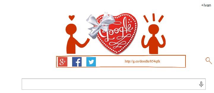 Google te pone hacer chocolates para San Valentín con su nuevo Doodle - Doodle-San-Valentin
