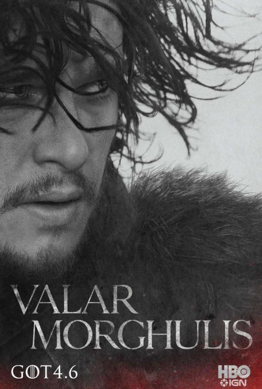 Nuevos posters y teaser tráiler de Game of Thrones y la familia Stark - JonSnow-610x903-540x800