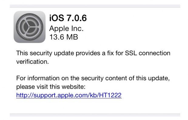 Actualización iOS 7.0.6 e iOS.6.1.6 son lanzadas por Apple - actualizacion_ios