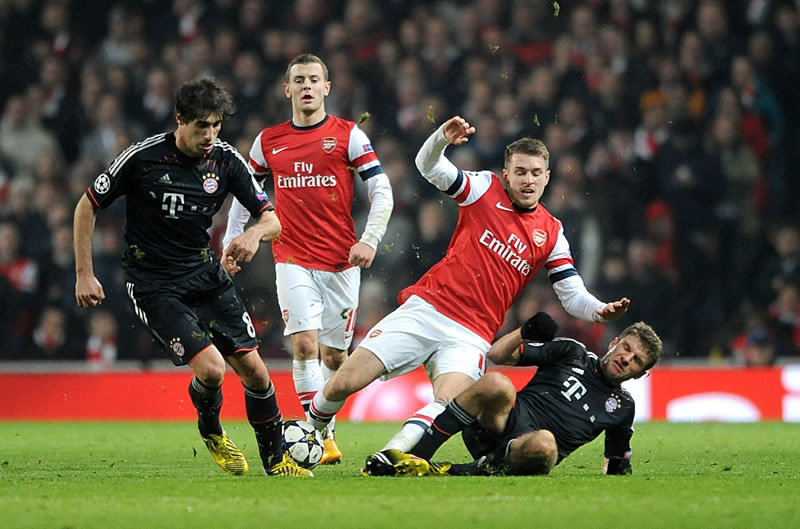 Arsenal vs Bayern Munich en vivo, Champions League 2014 - arsenal-vs-bayern-en-vivo-2014