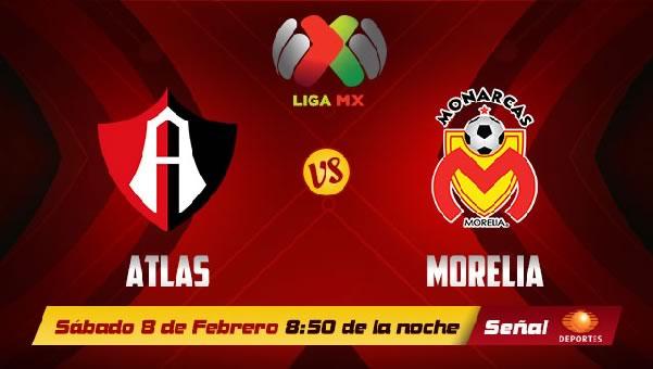 Atlas vs Morelia en vivo, Jornada 6 Clausura 2014 - atlas-vs-morelia-en-vivo