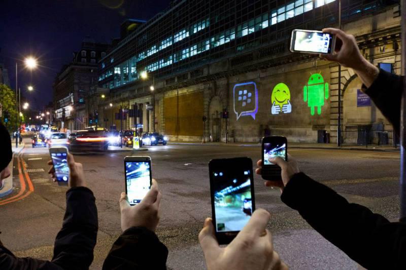 La función encuentra amigos ya está disponible en BBM para iPhone y Android - bbm-android-iphone