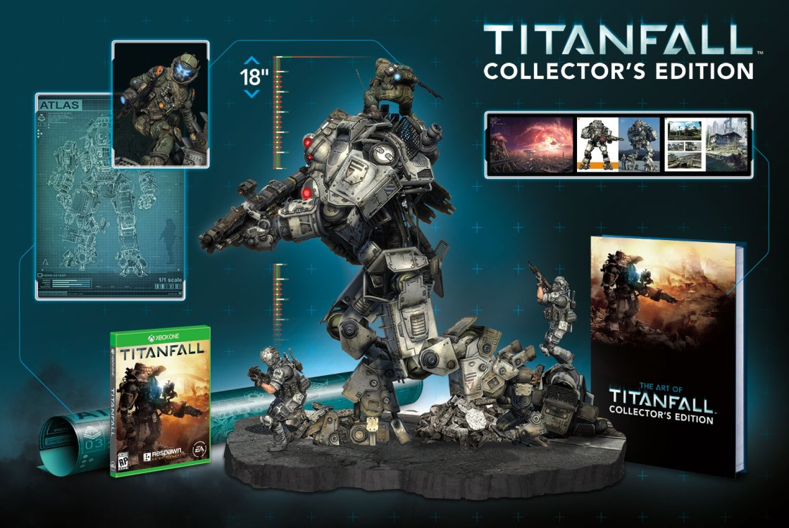 Titanfall Collector's Edition Unboxing en video - col