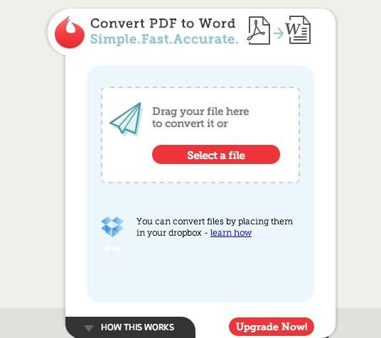 Convertir PDF a Word en línea con Convertii - convertir-pdf-a-word-online