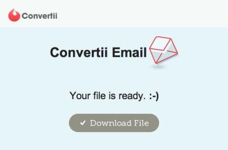 Convertir PDF a Word en línea con Convertii