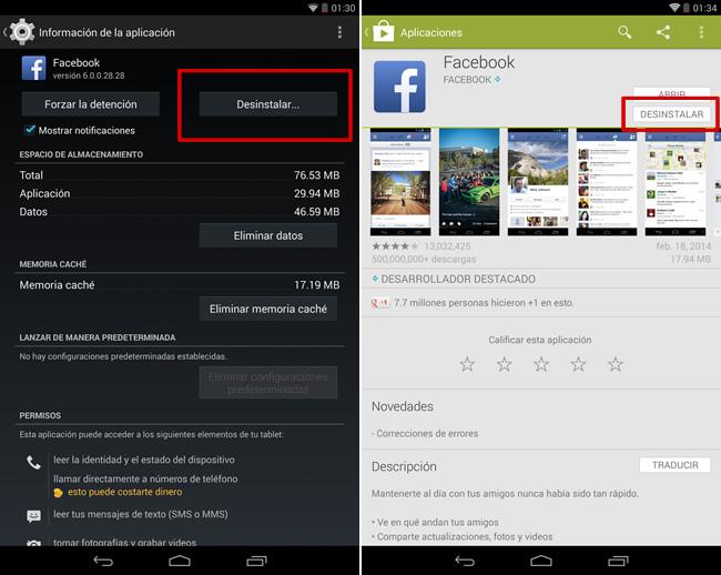 Cómo eliminar aplicaciones del historial de apps en Google Play - desinstalar-aplicaciones-android