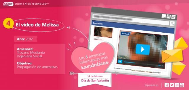 El top 5 de amenazas informáticas el día de San Valentín - el-video-de-melissa