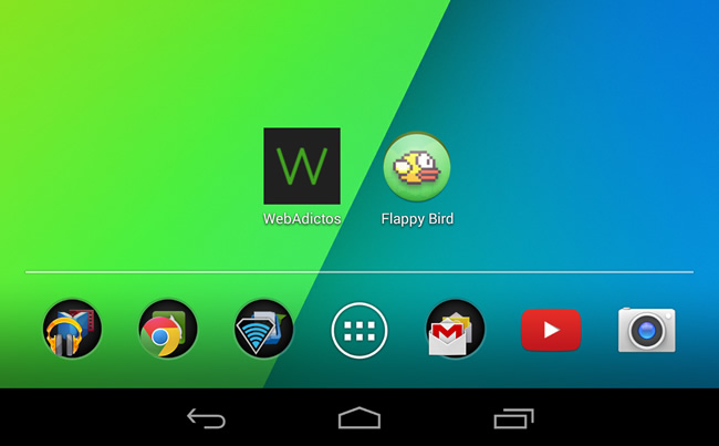 Instalar Flappy Bird en Android con el APK - flappy-bird-android-apk