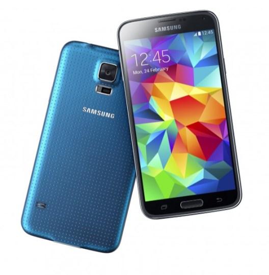 Samsung Galaxy S5 ya es oficial - galaxy-s5-azul-589x600