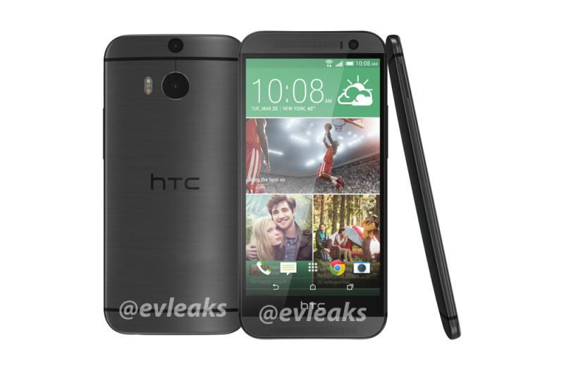 Se filtra la apariencia del nuevo teléfono insignia de HTC y aparece en color dorado - htc-one-2014-gris-800x524