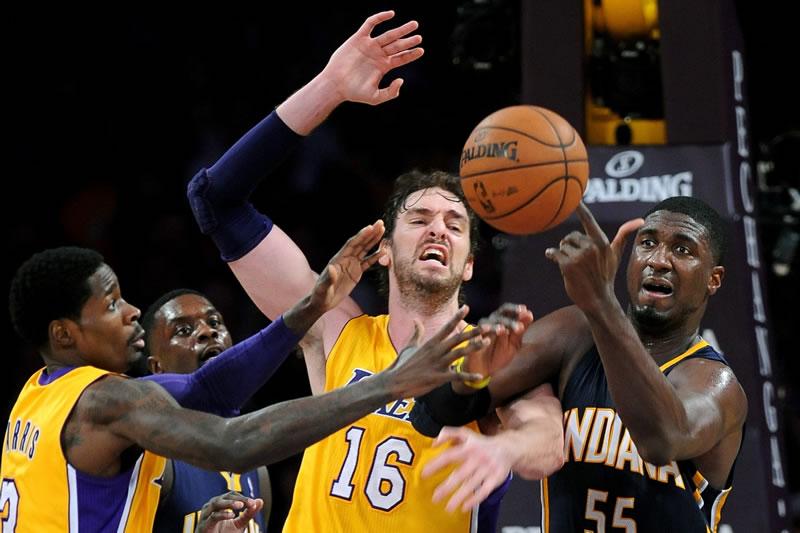 Sigue el partido de NBA entre Lakers vs Pacers en vivo por internet - lakers-vs-pacers-nba-en-vivo