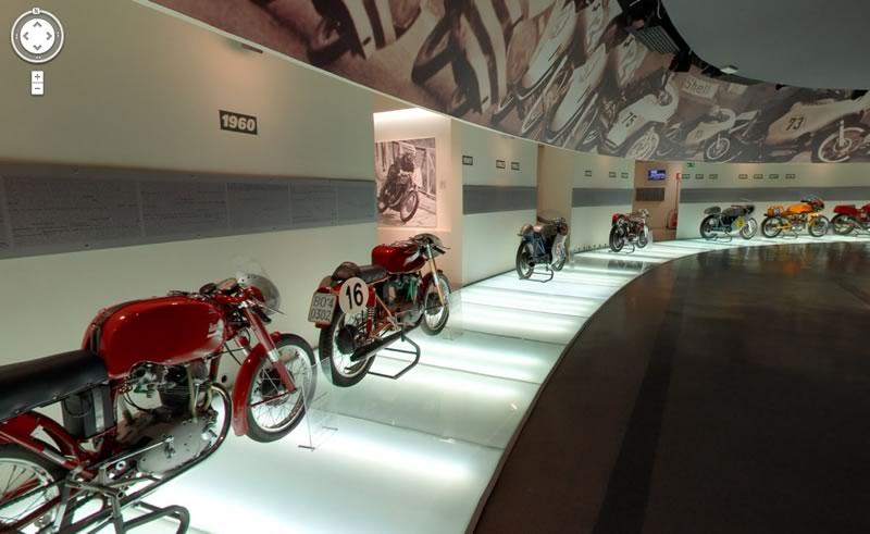 Visita el museo Ducati gracias a Google Street View - museo-ducati-en-google
