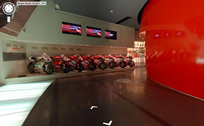 Visita el museo Ducati gracias a Google Street View - museo-ducati-italia1