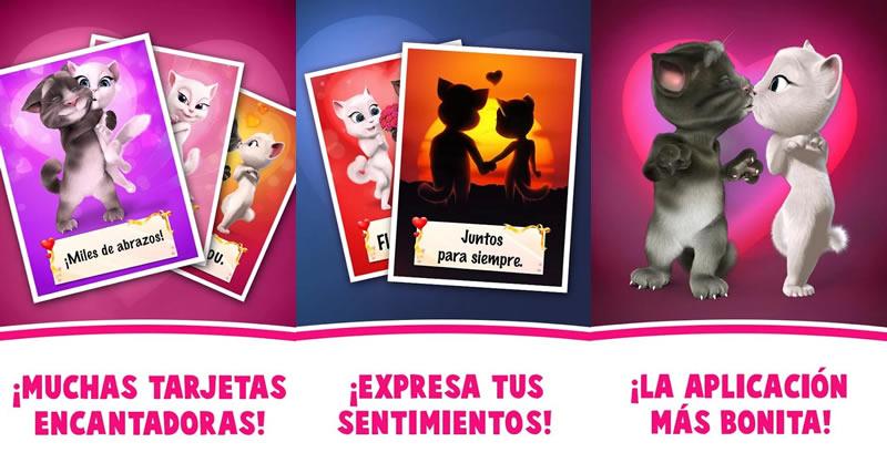 Enviar tarjetas de San Valentín en Android con estas apps - postales-amor-amistad-tom