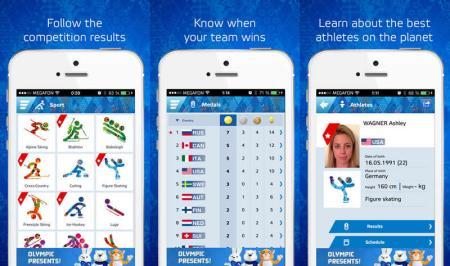 Sigue los juegos de Sochi 2014 desde tu celular