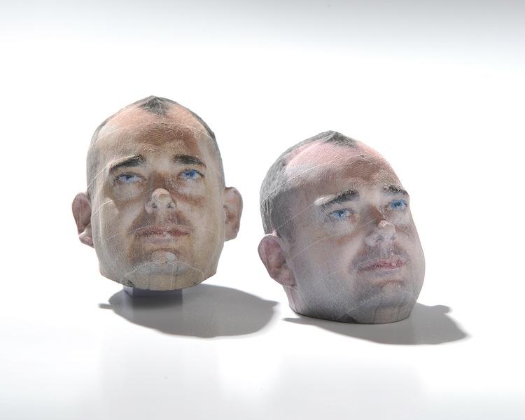 Impresoras 3D en papel, una forma de imprimir en 3D a bajo costo - rostro-impresion-3d
