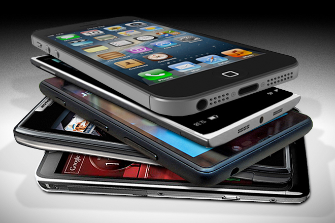 Crecimiento en el mercado de teléfonos inteligentes caerá en 2014 - smartphones