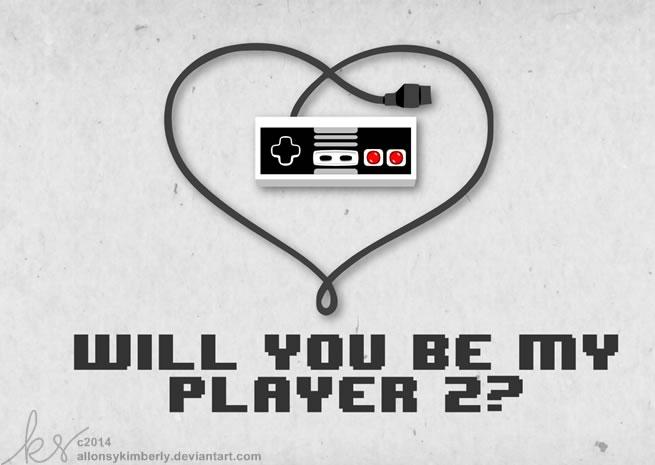 Tarjetas de San Valentín para Gamers que puedes imprimir - tarjetas-san-valentin-nintendo