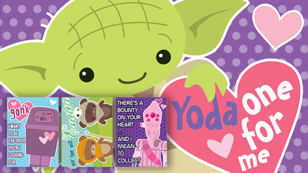 Tarjetas de San Valentín para imprimir de Star Wars - tarjetas-san-valentin-yoda-starwars