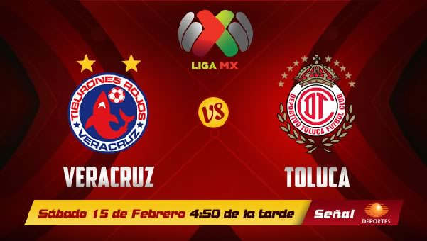 Toluca vs Veracruz en vivo, Jornada 7 Clausura 2014 - veracruz-vs-toluca-en-vivo-2014
