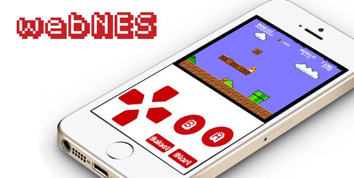 WebNES, el emulador de NES para iPhone e iPad sin Jailbreak - webnes_iphone