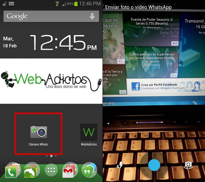 Nueva version de whatsapp incluye nuevos widgets - widget-whatsapp-camara