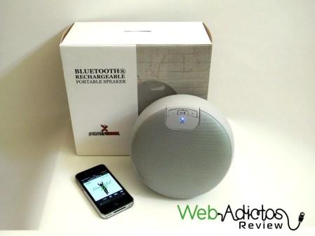 Bocina portátil Bluetooth Moon de Perfect Choice, movilidad y buen sonido a un precio accesible [Reseña]