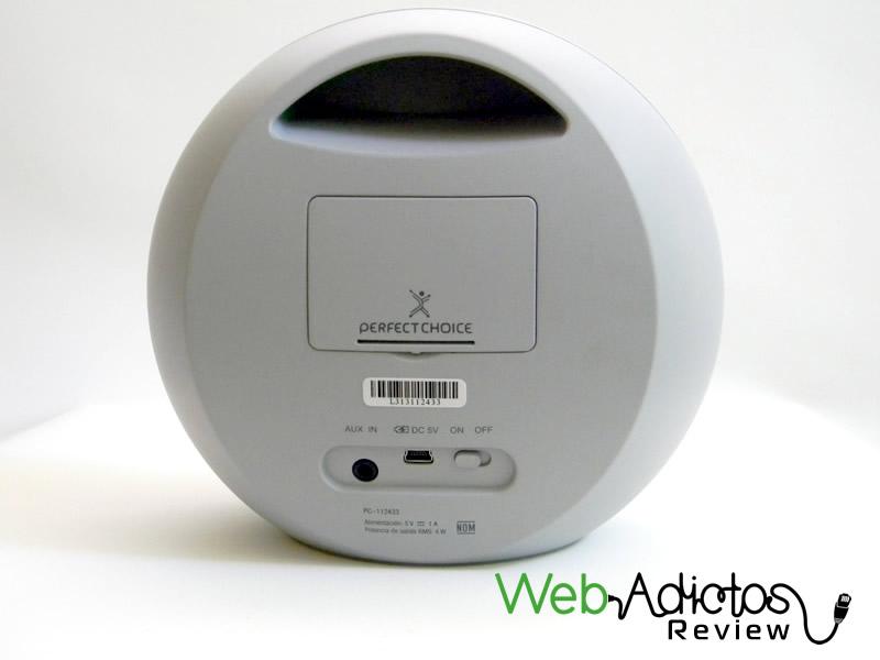 Bocina portátil Bluetooth Moon de Perfect Choice, movilidad y buen sonido a un precio accesible [Reseña] - Bluetooth-bocina-moon-perfect-choice-7