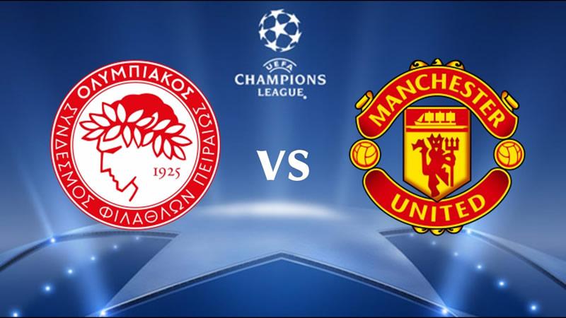 Champions en vivo: Manchester United vs Olympiakos (partido de vuelta) - Manchester-United-vs-Olympiacos
