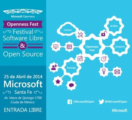Festival de Software Libre y Open Source en Microsoft México (Openness Fest)