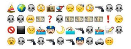Las 9 películas nominadas al Oscar explicadas con emoticones - captainphillips-emoticon