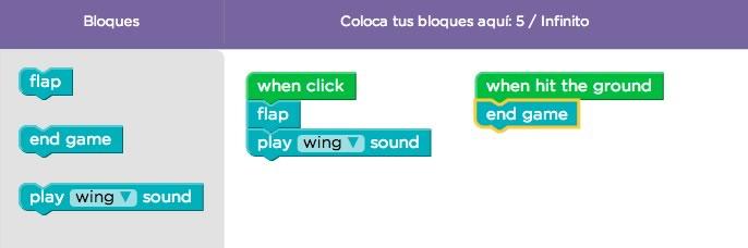 Aprende a crear tu propio Flappy Bird sin saber programación - crear-flappy-bird-nivel-2