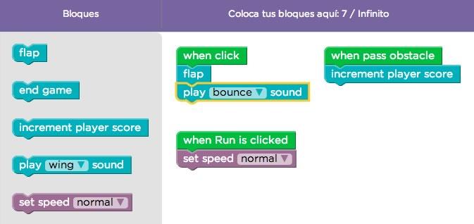 Aprende a crear tu propio Flappy Bird sin saber programación - crear-flappy-bird-nivel-5