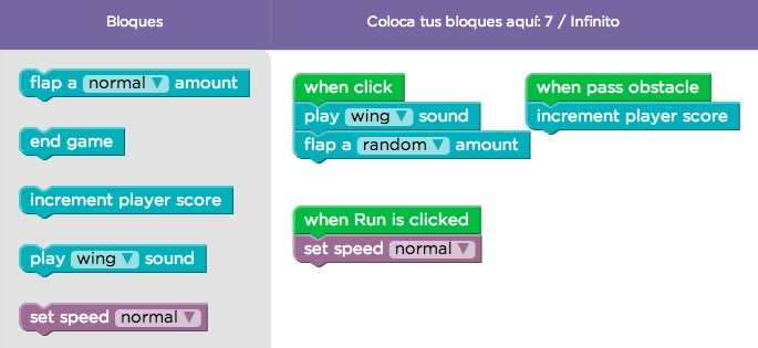 Aprende a crear tu propio Flappy Bird sin saber programación - crear-flappy-bird-nivel-6