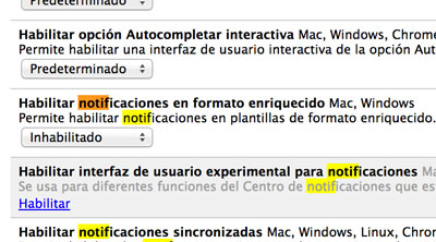 Cómo deshabilitar las notificaciones de Google Now en Chrome - google-now-notificaciones